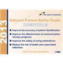 2013 National Patient Safety Goals for Hospitals badge buddies