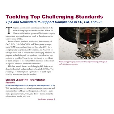 Tackling Top Challenging Standards
