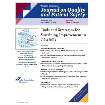 Journal on Quality and Patient Safety - February 2013