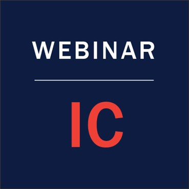 Infection Control Webinar Series