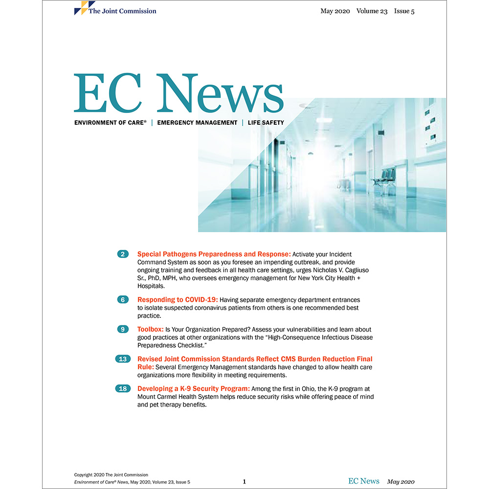 Environment of Care News