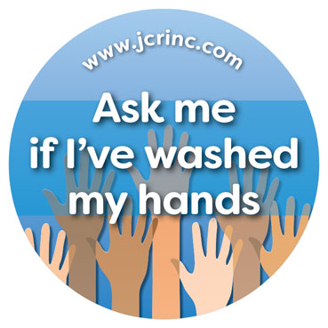 Ask Me If Ive Washed My Hands Hand Hygiene Buttons